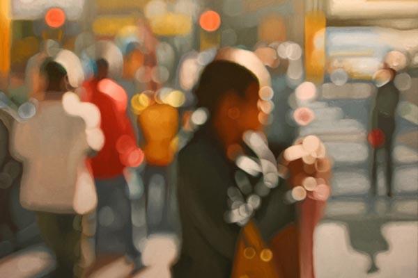 Иллюзия размытых фотографий в картинах Филиппа Барлоу