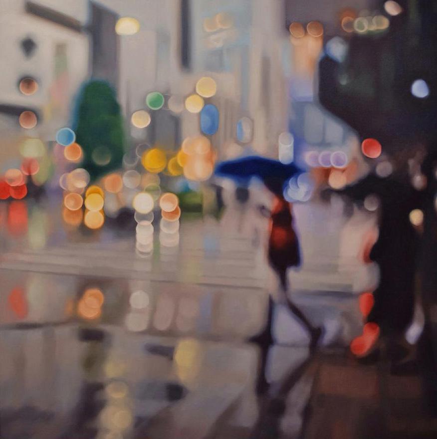 иллюзия размытых фотографий, гиперреализм, картины, Филипп Барлоу, Philip Barlow