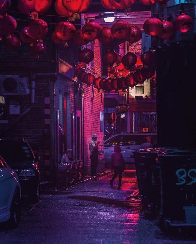Неоновый Токио, фотографии, Лиам Вонг, Liam Wong