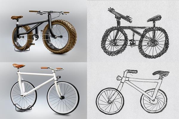 Спорим, что вы не сможете нарисовать функциональный велосипед по памяти?