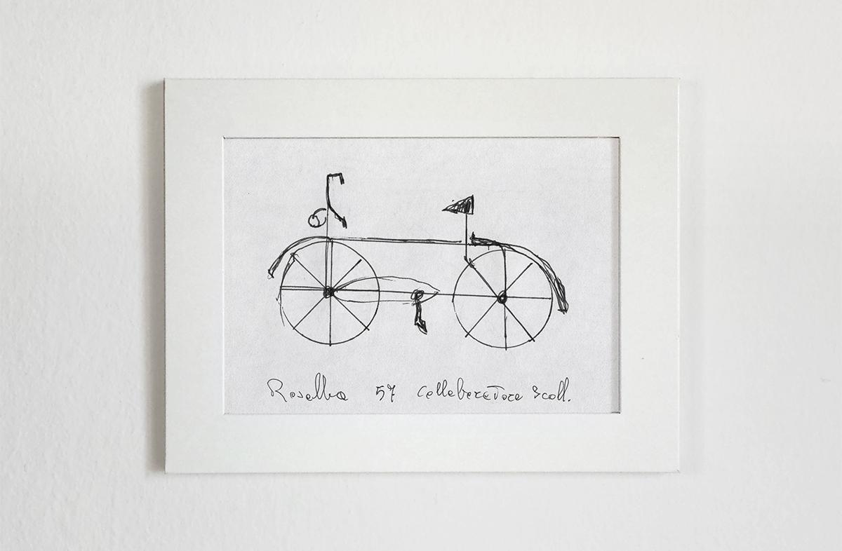 дизайнер, Джанлука Гимини, Gianluca Gimini, интересный эксперимент, велосипед по памяти, Velocipedia