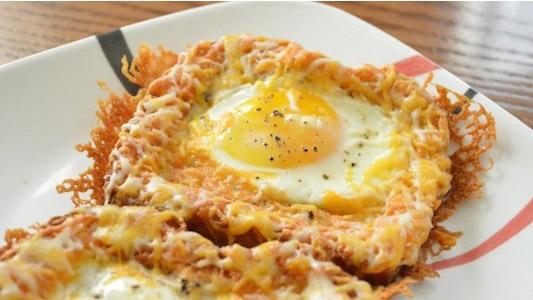 Рецепт тоста с яйцом