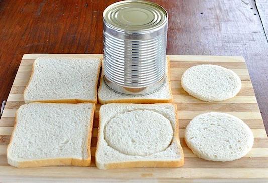 Рецепт хлебных чашечек