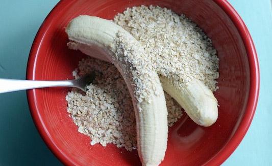Рецепт бананового печенья