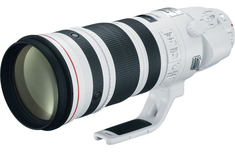 Объектив Canon EF 200-400 F / 4L IS в разобранном виде