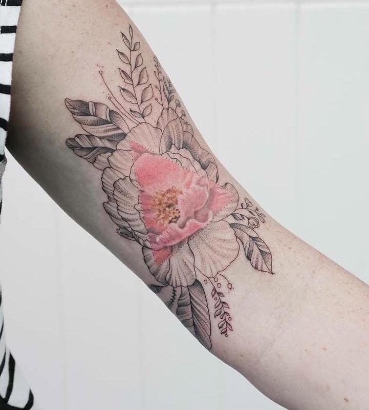 татуировки, Джаспер Андрес, Jasper Andres