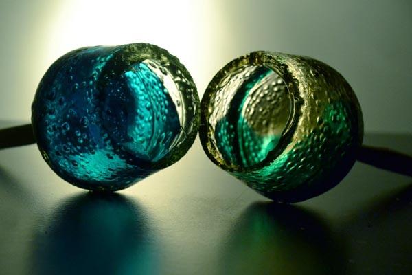 Процесс создания «съедобных» сладких бокалов