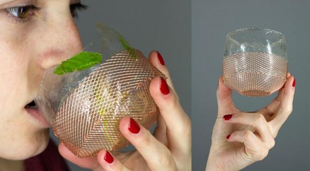 Процесс создания «съедобных» сладких бокалов, Фернандо Лапоссе, Fernando Laposse
