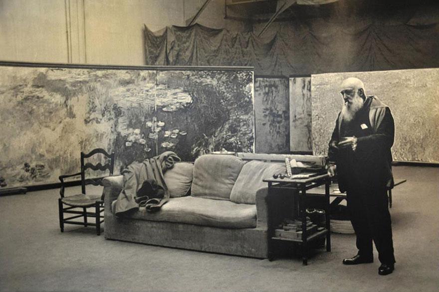 Рабочие места художников. Клод Моне