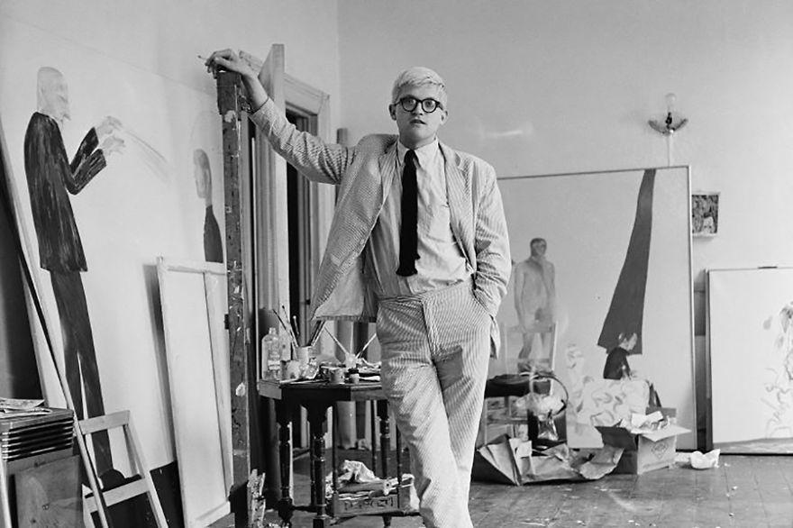 Рабочие места знаменитых художников. Дэвид Хокни