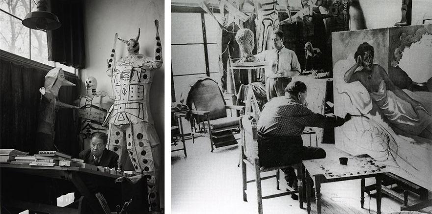Рабочие места художников. Диего Ривера