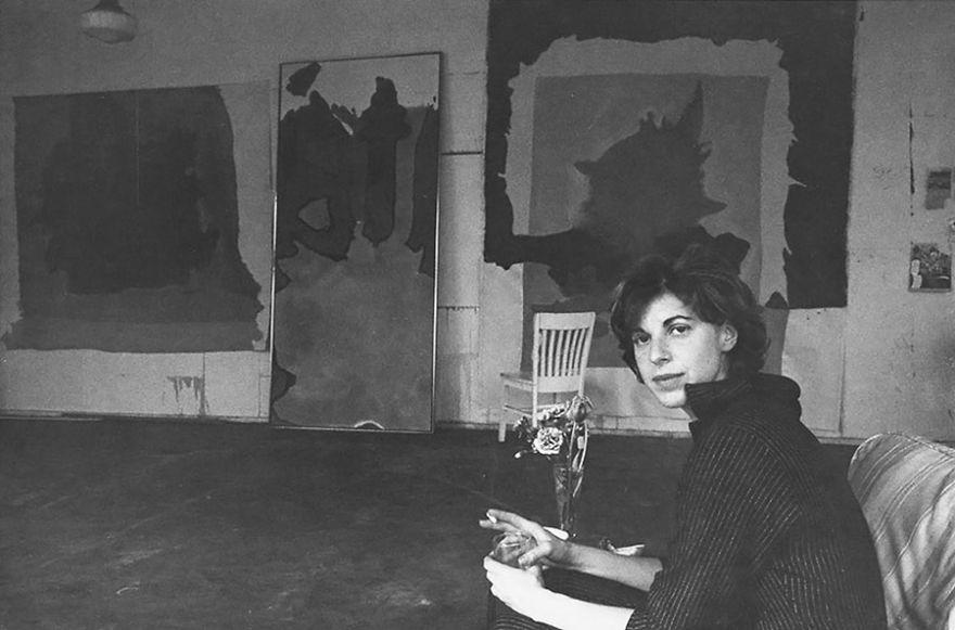 Рабочие места художников. Элен Франкенталер