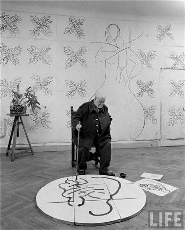 Рабочие места художников. Анри Матисс