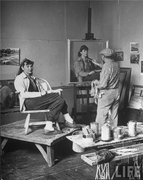 Рабочие места художников. Ричард Миллер