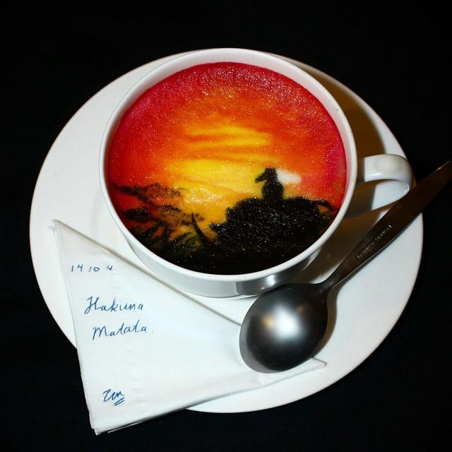 Утончённое кофейное искусство от Гидака аль-Низара