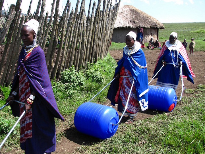 бочка для перевозки воды