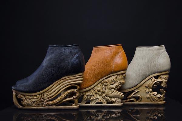 Концептуальный изыск в линии обуви от Fashion4Freedom