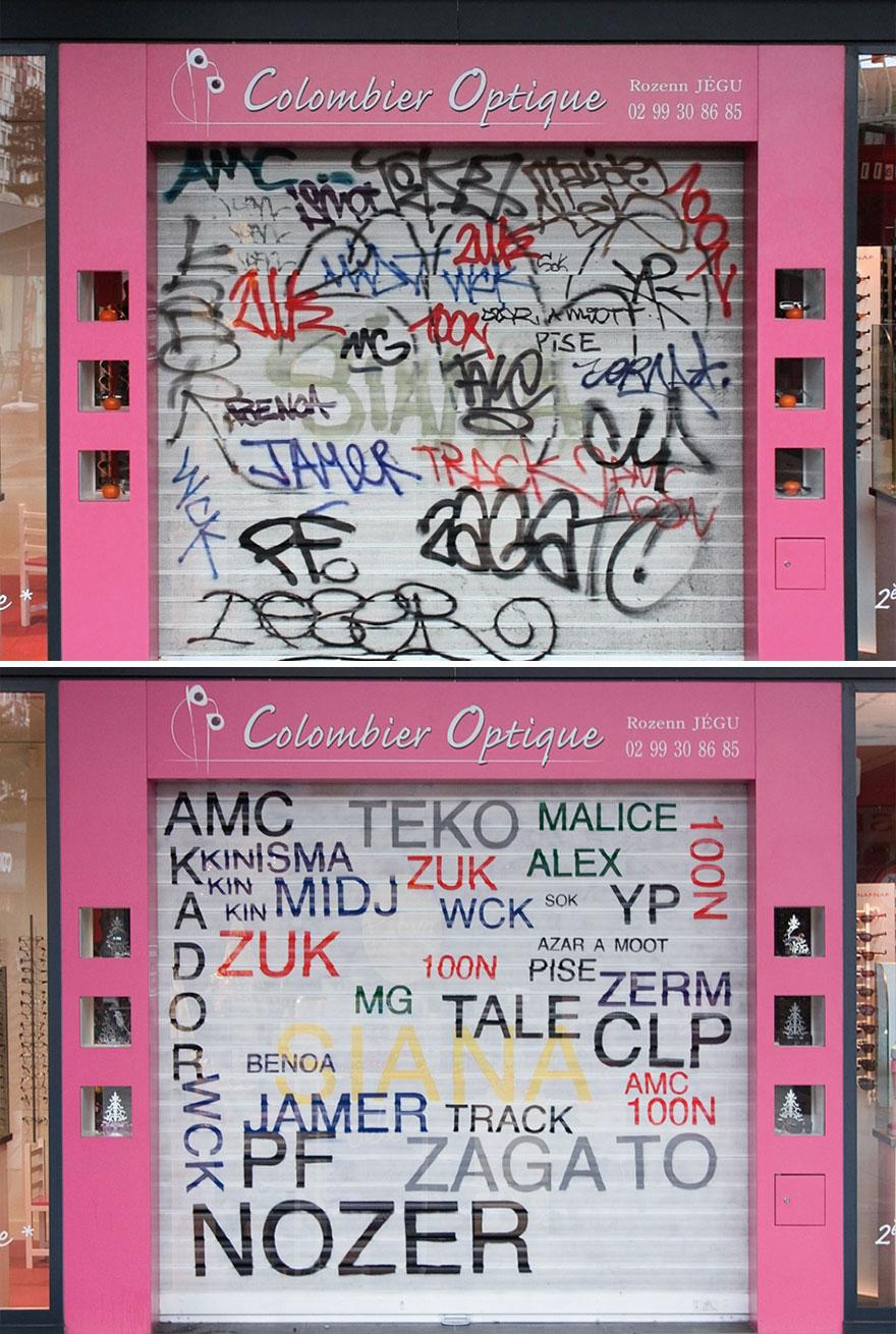 граффити, Мэтью Тремблин, Mathieu Tremblin