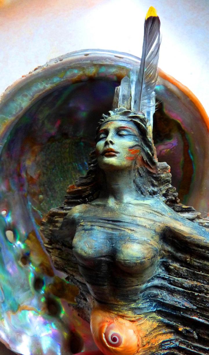 скульптуры, Дебр Бернье, Debra Bernier