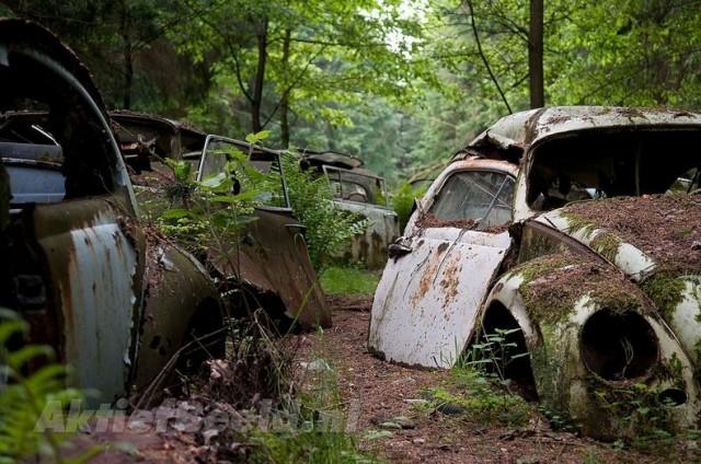 кладбище автомобилей, Бельгия, Шатийон