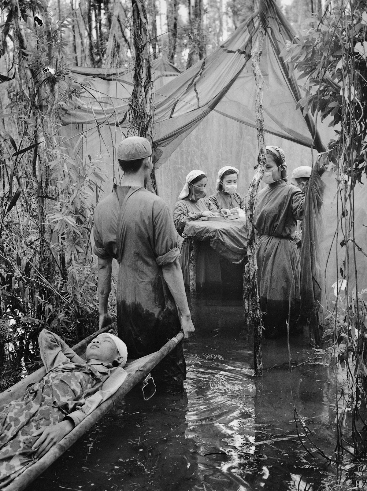 Редкие фотографии Вьетнамской войны.