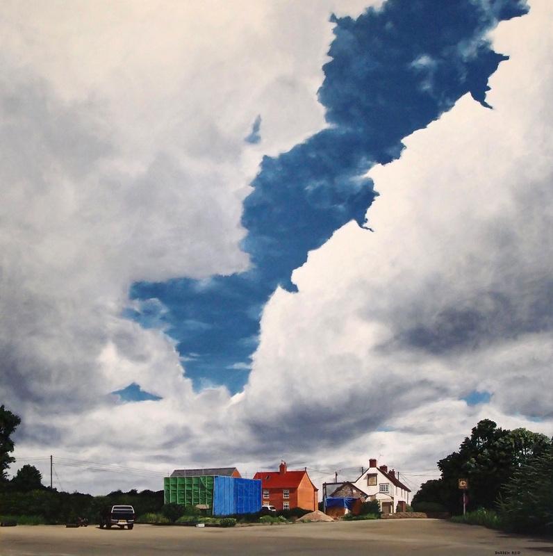 гиперреалистичные картины, художник-самоучка, Даррен Рид, Darren Reid