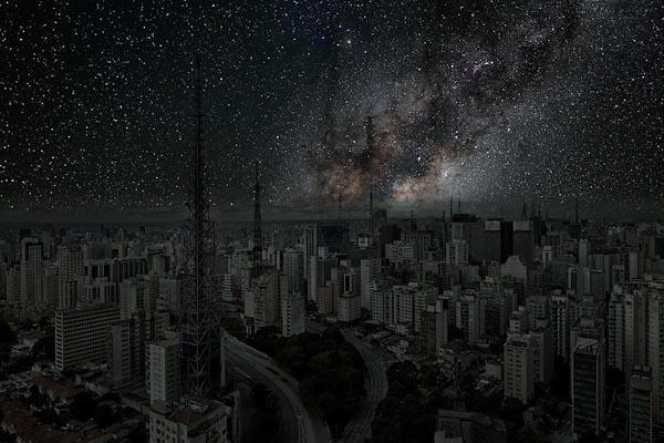 Как будут выглядеть ночные города без света