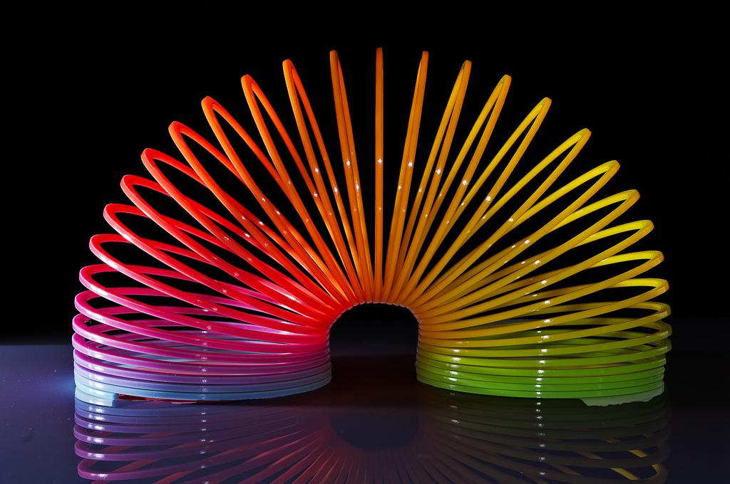 Слинки или пружинка-радуга