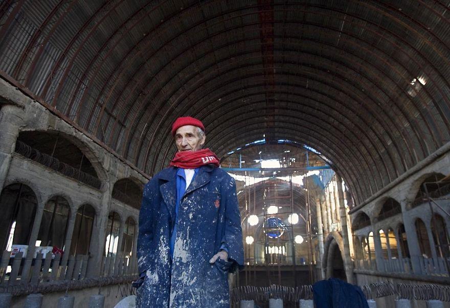 Человек строит собор в одиночку, Хусто Гальего Мартинес, Justo Gallego Martínez