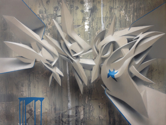 3D фигуры, стрит-арт, Мануэль Ди Рита, Manuel Di Rita