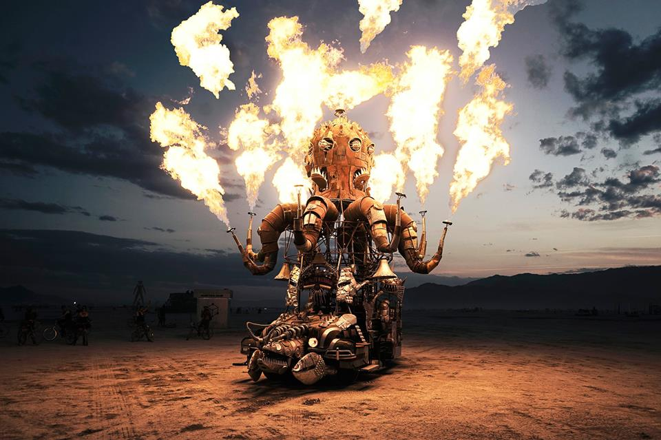 Burning Man, фотографии, Виктор Хабчи, Victor Habchy