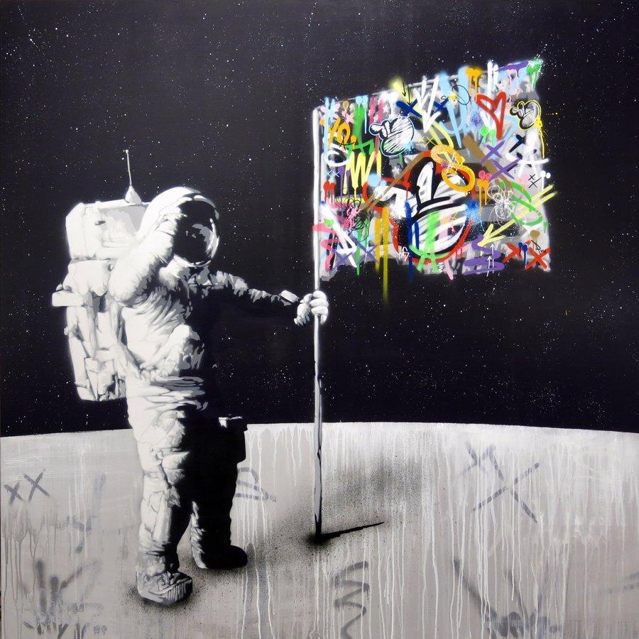 граффити, стрит-арт, уличный художник, Мартин Уотсон, Martin Whatson