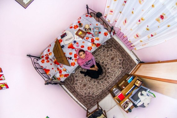 комнаты со всего мира, My Room Project, фотограф, Джон Такврей, John Thackwray