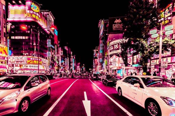 Сияющий Токио в фотографиях Ксавьера Портелы