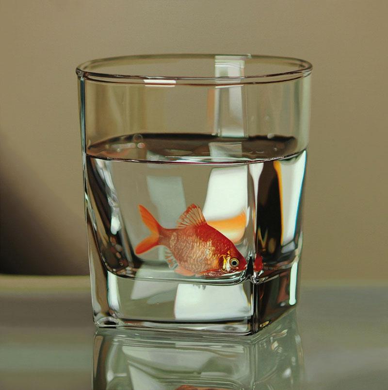 гиперреалистичные картины, корейский художник, Янг-Сунг Ким, Young-Sung Kim