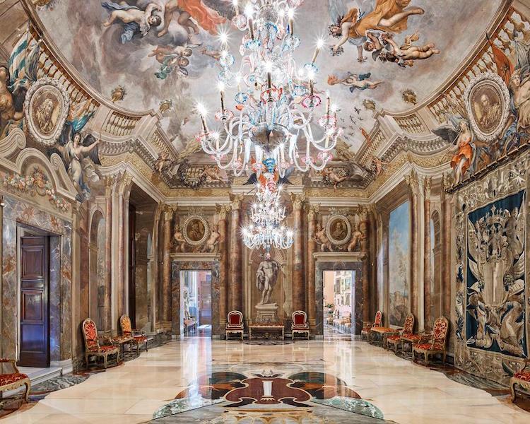 старинные интерьеры Италии, фотографии, Дэвид Бурдени, David Burdeny