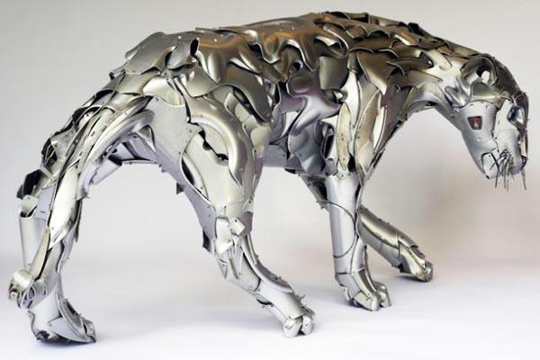 Восхитительные скульптуры из металлолома от Птолемея Элрингтона