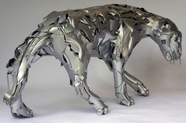скульптуры из металлолома, Птолемей Элрингтон, Ptolemy Elrington