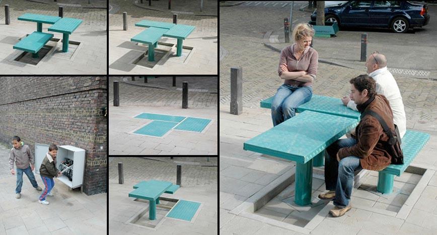 Уличная мебель, дизайнеркая креативная мебель