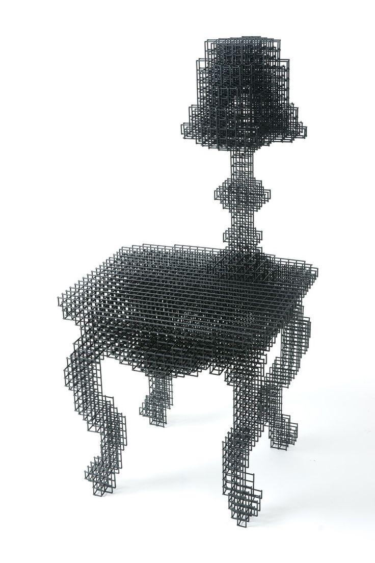Пиксельная мебель, дизайнеркая креативная мебель