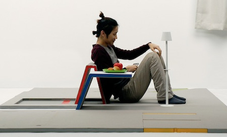 Складной ковёр, дизайнеркая креативная мебель