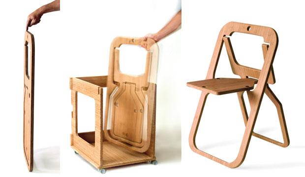 Складная мебель, дизайнеркая креативная мебель