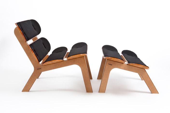 Мебель из скейтбордов, дизайнеркая креативная мебель
