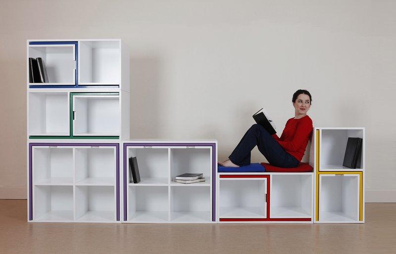 скрытая мебель, дизайнеркая креативная мебель