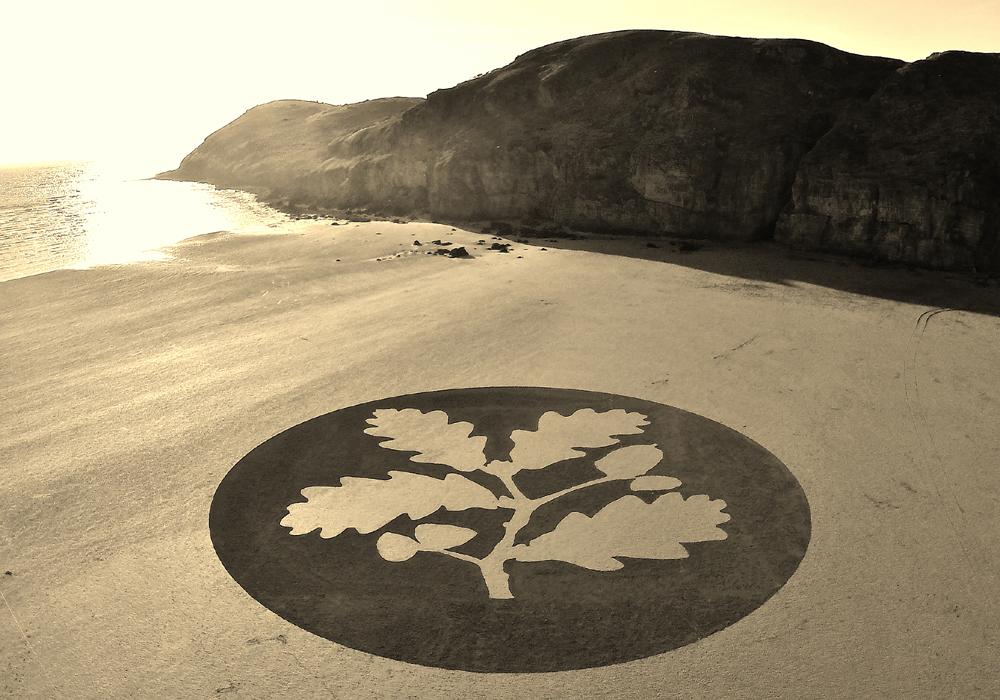 Песчаные рисунки от Джулиана Ричардсона