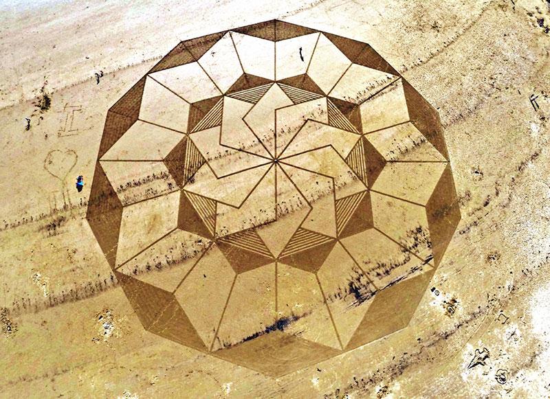 песчаные рисунки, Джулиан Ричардсон, Julian Richardson