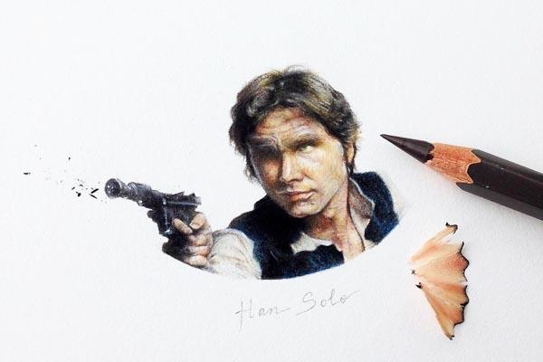 Персонажи фантастических фильмов в миниатюрных иллюстрациях Клаудии Маккечини