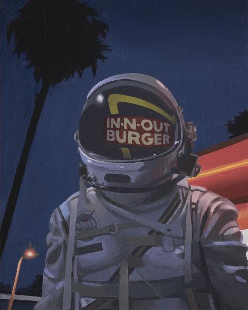 одинокий космонавт, картины, Скотт Листфилд, Scott ListField