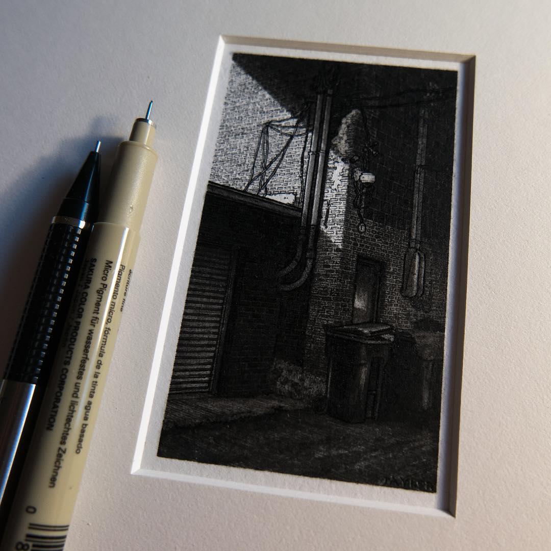 городские пейзажи, миниатюры, Тейлор Мейзер, Taylor Mazer
