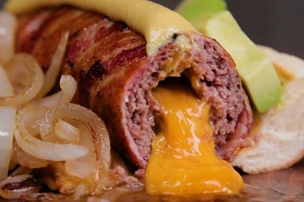 Рецепт вкуснейшего хот-дога. Подробное описание с фото